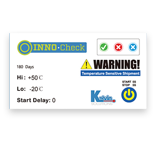 electronic temperature indicator